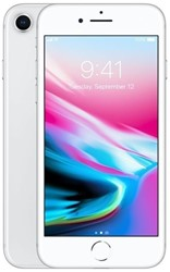 Picture of Refurbished Apple iPhone 8 256GB Unlocked Silver - Grade A