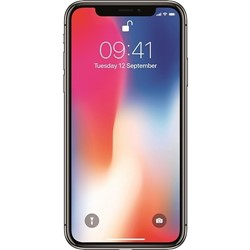 Picture of Refurbished Apple iPhone X 256GB Unlocked Silver- Grade A