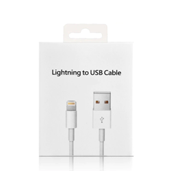 Picture of Apple iPhone Charger Lead 1 Meter USB Lightning Charging Cable for iPhone XS, X, 8, 8+, 7, 7+, 6s, 6sPlus, 6, 5s, 5