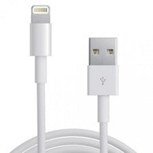 Picture of Apple iPhone 1M Lightning Cable and Fast Charging Lead for iPhone XR XS Max  6s 6 Plus  iPad iPod [2 Pack]
