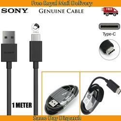 Picture of Genuine Sony Xperia XZ XZ2 XZ3 XZ4 L3 L4 Fast Data Charger USB Type-C Cable Lead