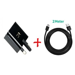 Picture of Genuine Samsung Fast Charger Plug & 2M USB-C Cable For Galaxy A51 A71 A90 5G Lot