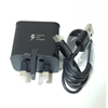Picture of Genuine Samsung Fast Charger Plug &2M Long USB-C Cable For Galaxy Note 4 Note 9 8 7 Lot