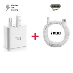 Picture of Fast Charger Plug 2M USB-C Cable For Samsung Galaxy A21 A21s A31 A41 Lot