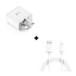 Picture of Genuine Samsung Adaptor & 2M Type C USB Cable for Galaxy S9 S9+