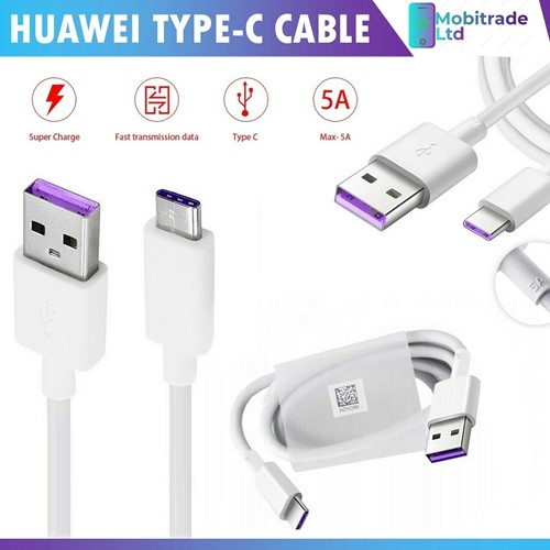 Picture of Genuine Huawei Super Fast USB-C Charger Cable Data Sync For Nova 5T 5i Pro 2019