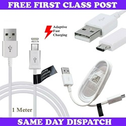 Picture of Samsung Fast USB Charger Cable Data Lead For Galaxy Tab A A6