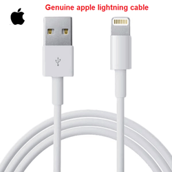 Picture of Genuine Apple Lightning to USB Cable | iPhone charging Cable | iPad Cable | 1M