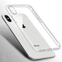 Picture of Transparent Back Glass Housing Cover Frame   For iPhone X
