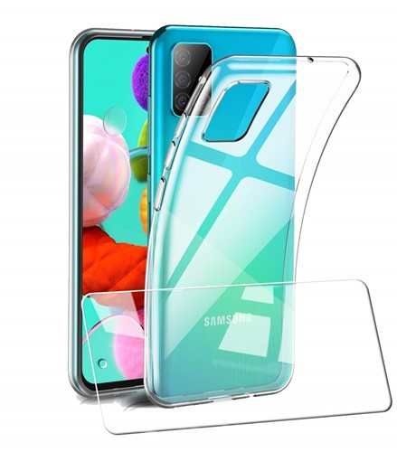 Picture of For Samsung  A21S Tempered Glass Screen Protector / Case Cover