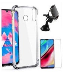 Picture of For Samsung Galaxy S10 Transparent Mobile Phone Case & Screen Protector