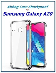 Picture of Full Shockproof Clear Transparent Back Case Cover For Samsung Galaxy A30