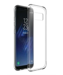 Picture of Genuine Transparent Mobile Phone Screen protector & Case Cover For Samsung S8  Plus