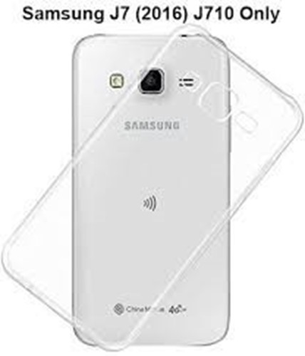 Picture of Tempered Glass Back Case For Samsung Galaxy J7