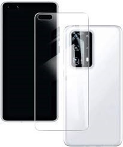 Picture of Genuine Transparent Mobile Phone Cover Case & Screen Protector For Huawei Y7 Prime