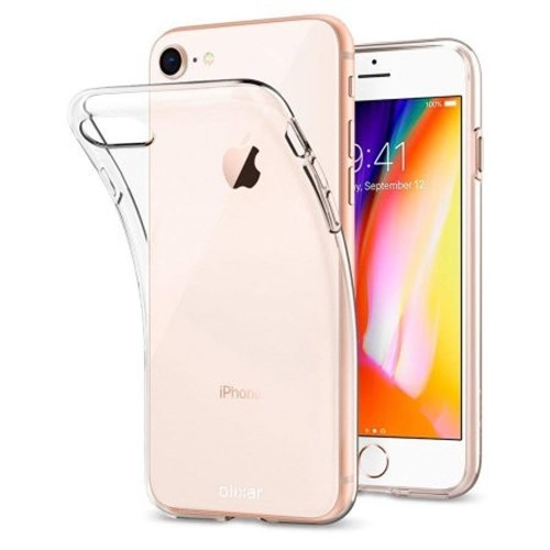 Picture of Tempered Glass Screen Protector & Back Case For iPhone 8