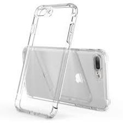 Picture of Silicon Glass Back Case & Adapter For Apple Iphone 7.