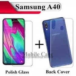 Picture of Genuine Transparent Mobile Phone Case Cover & Protector For Samsung Galaxy A40