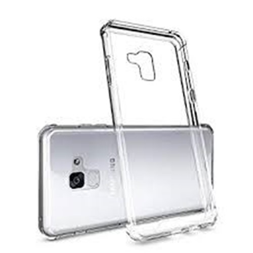 Picture of Genuine Transparent Mobile Phone Case Cover For Samsung Galaxy A8 Plus