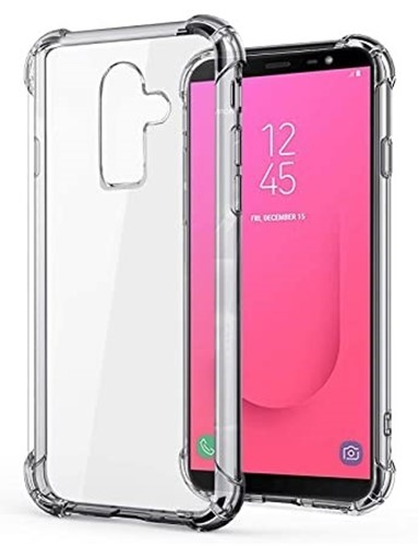 Picture of Transparent Case Cover + Tempered Glass Screen Protector For Samsung A70