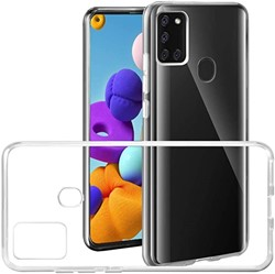 Picture of Clear Transparent Back Case Cover For Samsung Galaxy A21s