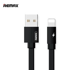 Picture of REMAX  iPhone Lightning Cable For All iPhones In Black | 1 Meter