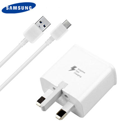 Picture of Samsung 15W Plug Fast Charging Adapter With Type C Cable for Samsung Galaxy S10 S8 S9 Note 10 Plus 8 9