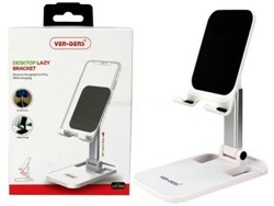 Picture of VD Universal Portable Mobile Phone Stand Desktop Holder Table | White