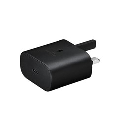 Picture of Official Samsung 25W Charging Adapter USB-C (Black) for Samsung Galaxy S series