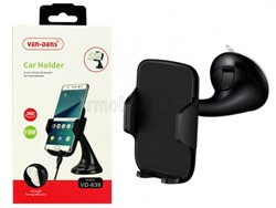 Picture of Ven-Dens Universal Silicone Suction Windscreen Holder VD-639 - Black