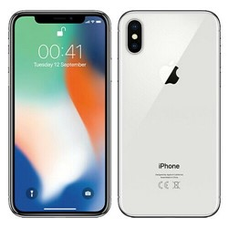 Picture of Refurbished Apple iPhone X 64GB Unlocked Silver - Grade C