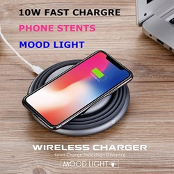 Picture of ANG Mood Light Wireless Charger For Apple , Samsung and Huawei Mobile Phones