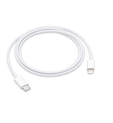 Picture of Apple iPhone USB-C to Lightning Cable |iPhone/iPad Cable | 2M White