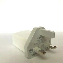 Picture of Oppo 20W Fast Charging USB Adapter UK 3 Pin Adapter   White