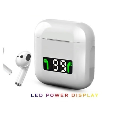 Picture of TWS Pro 12 Earbuds For Apple iPhone | LED Display Wireless Headset