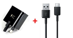 Picture of Samsung Fast Charging Adapter & 1M  USB-C Cable For Samsung Galaxy Phones