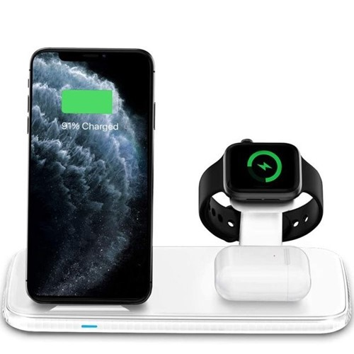 Picture of 4 in 1 Wireless Charging Dock for Apple iWatch and Airpods, Charging Station for Multiple Devices