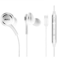 Picture of Genuine AKG Type C Connector Headphones For Samsung Galaxy S20 ,S21-White