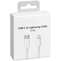 Picture of Apple USB-C to Lightning Cable Compatible with Apple iPhone/iPad | 1M White