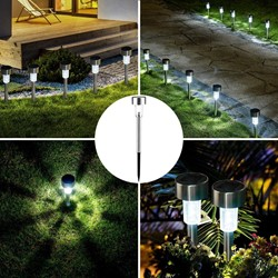 Picture of Solar Lights Outdoor Garden Led Light Landscape/Pathway Lights for Patio/Lawn/Yard/Driveway/Walkway