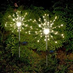 Picture of Solar Firework Lights Warm White LED Solar Starburst Lights